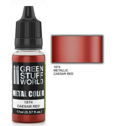 Green Stuff World metal color-caesar red
