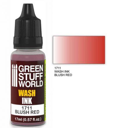 Green Stuff World wash ink-blush red