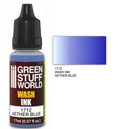 Green Stuff World wash ink-ether blue
