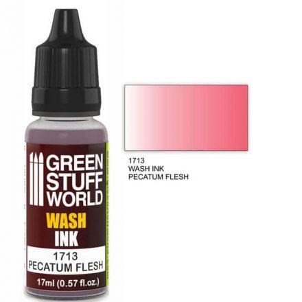 Green Stuff World wash ink-pecatum flesh
