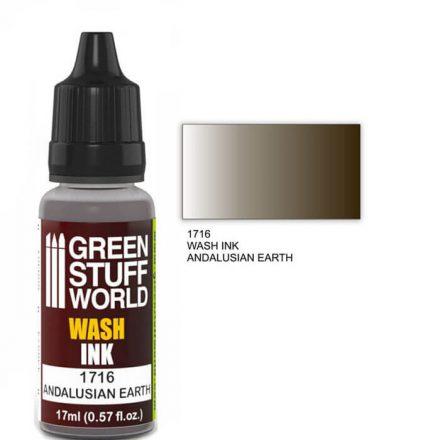 Green Stuff World wash ink-andalusian earth