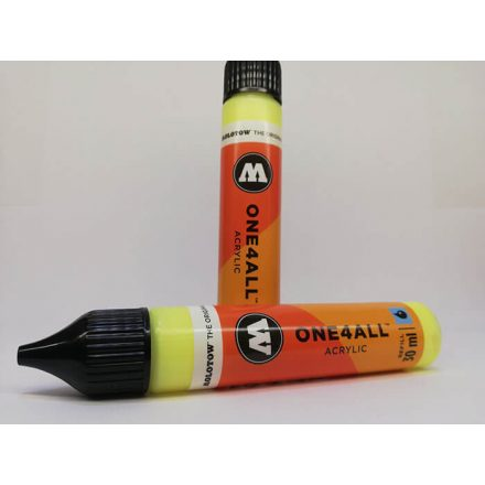 Molotow airbrush festék neon yellow fluores
